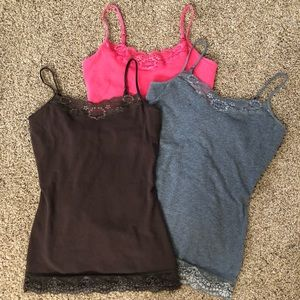 Express camis bundle, size small